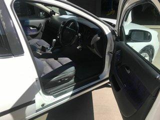 2003 Ford Falcon BA XL (LPG) White 4 Speed Auto Seq Sportshift Utility