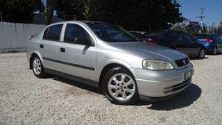 2005 Holden Astra TS MY05 Classic Equipe Silver 5 Speed Manual Sedan.