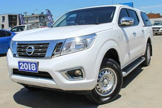 2018 Nissan Navara D23 S3 RX 4x2 White 7 Speed Sports Automatic Utility.
