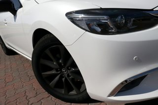2014 Mazda 6 GJ1031 MY14 Touring SKYACTIV-Drive White 6 Speed Sports Automatic Sedan.