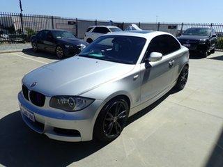 2010 BMW 135i E82 MY11 Sport Silver Metallic 7 Speed Auto Dual Clutch Coupe.