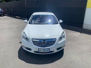 2012 Opel Insignia IN Select White 6 Speed Sports Automatic Sedan.