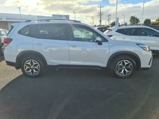 2019 Subaru Forester S5 MY20 2.5i CVT AWD White 7 Speed Constant Variable Wagon.