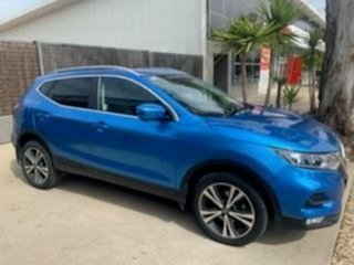 2018 Nissan Qashqai J11 MY18 ST-L Blue Continuous Variable Wagon