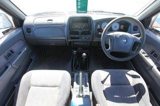 2002 Nissan Navara D22 MY2002 ST-R Silver 5 Speed Manual Utility