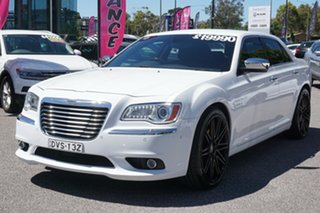 2013 Chrysler 300 LX MY13 C E-Shift Luxury White 8 Speed Sports Automatic Sedan.