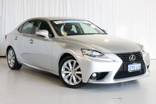 Used Lexus IS GSE30R IS250 Luxury Wangara, 2014 Lexus IS GSE30R IS250 Luxury Silver 6 Speed Sports Automatic Sedan