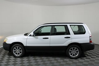 2007 Subaru Forester 79V MY07 X AWD White 4 Speed Automatic Wagon