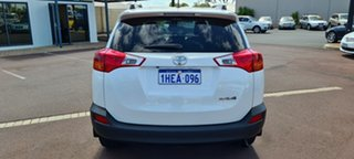 2014 Toyota RAV4 ZSA42R MY14 GXL 2WD Pearl White 7 Speed Constant Variable Wagon