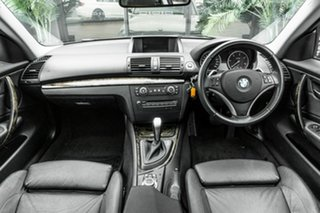 2010 BMW 1 Series E82 MY11 123d Steptronic Silver 6 Speed Sports Automatic Coupe