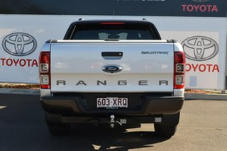 2017 Ford Ranger PX MkII MY18 Wildtrak 3.2 (4x4) Silver 6 Speed Automatic Dual Cab Pick-up