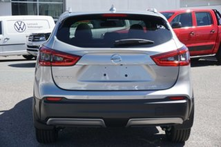 2019 Nissan Qashqai J11 Series 3 MY20 Ti X-tronic Silver 1 Speed Constant Variable Wagon