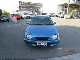 1999 Toyota Corolla AE112R Conquest Blue 4 Speed Automatic Liftback.