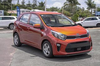 2018 Kia Picanto JA MY19 S Orange 4 Speed Automatic Hatchback