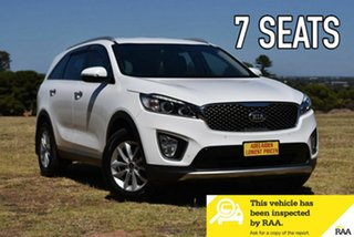 2017 Kia Sorento UM MY17 Si AWD White 6 Speed Sports Automatic Wagon.
