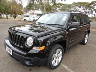 2014 Jeep Patriot MK MY14 Limited Black 6 Speed Sports Automatic Wagon