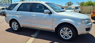 2009 Ford Territory SY MkII TS Silver 4 Speed Sports Automatic Wagon