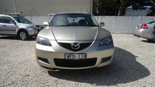 2007 Mazda 3 BK10F2 Maxx Silver 4 Speed Sports Automatic Sedan
