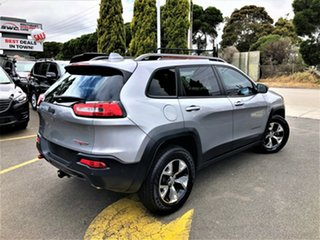 2015 Jeep Cherokee KL MY15 Trailhawk Silver 9 Speed Sports Automatic Wagon