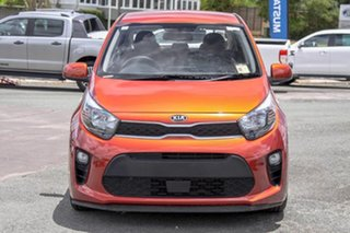 2018 Kia Picanto JA MY19 S Orange 4 Speed Automatic Hatchback.