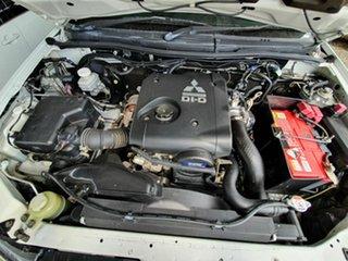 2014 Mitsubishi Triton GLX White 5 Speed Automatic Utility