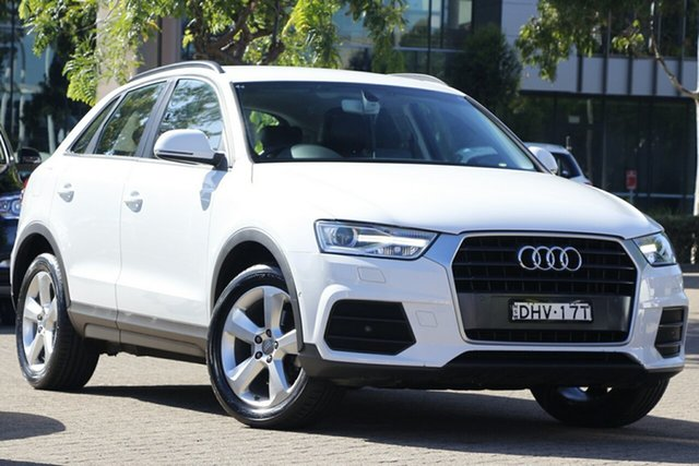 Used Audi Q3 8U MY15 1.4 TFSI (110kW) Rosebery, 2015 Audi Q3 8U MY15 1.4 TFSI (110kW) White 6 Speed Automatic Wagon