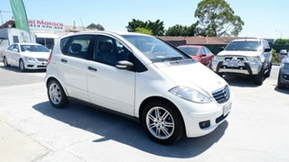 2005 Mercedes-Benz A-Class W169 A170 Classic White 7 Speed Constant Variable Hatchback.