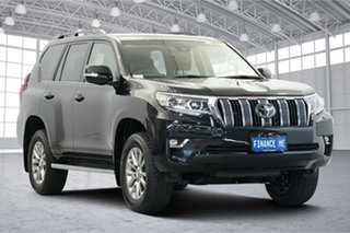 2020 Toyota Landcruiser Prado GDJ150R VX Black 6 Speed Sports Automatic Wagon.
