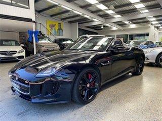 2014 Jaguar F-TYPE X152 S Black Sports Automatic Convertible