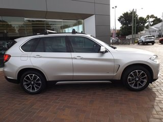 2015 BMW X5 F15 xDrive30d Silver 8 Speed Sports Automatic Wagon