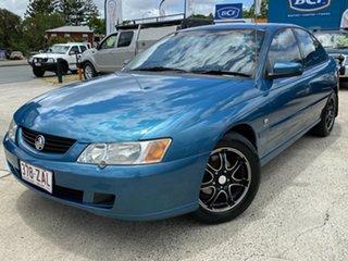 2003 Holden Commodore VY II Acclaim Blue 4 Speed Automatic Sedan.