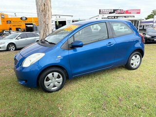 2008 Toyota Yaris NCP90R MY09 YR Blue 4 Speed Automatic Hatchback.
