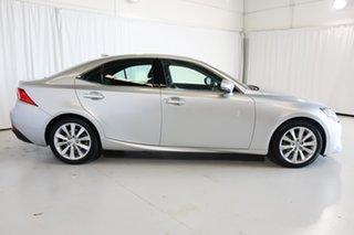 2014 Lexus IS GSE30R IS250 Luxury Silver 6 Speed Sports Automatic Sedan.