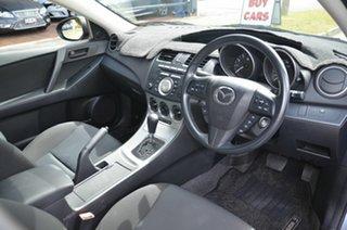 2010 Mazda 3 BL 10 Upgrade Maxx Silver 5 Speed Automatic Sedan
