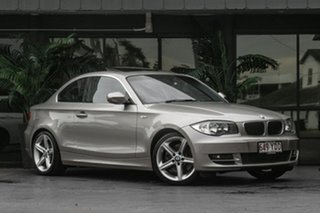 2010 BMW 1 Series E82 MY10 123d Steptronic Silver 6 Speed Sports Automatic Coupe.