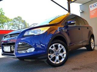 2016 Ford Kuga TF MY16.5 Trend AWD Blue 6 Speed Sports Automatic Wagon