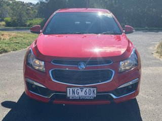 2015 Holden Cruze JH Series II SRi-V Red Sports Automatic Hatchback.