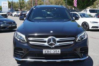 2015 Mercedes-Benz GLC-Class X253 GLC250 d 9G-Tronic 4MATIC Black 9 Speed Sports Automatic Wagon.