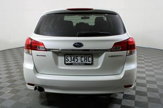 2013 Subaru Liberty B5 MY13 2.5i Lineartronic AWD White 6 Speed Constant Variable Wagon