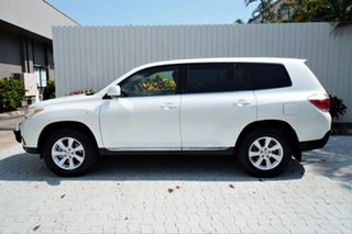2013 Toyota Kluger GSU45R MY12 KX-R AWD White 5 Speed Sports Automatic Wagon