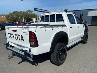 2007 Toyota Hilux KUN26R MY07 SR White 5 Speed Manual Utility.
