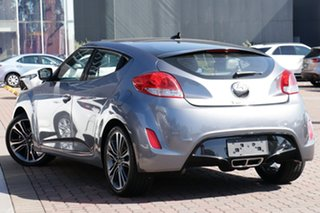 2015 Hyundai Veloster FS4 Series II + Coupe D-CT Gunmetal 6 Speed Sports Automatic Dual Clutch.