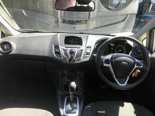 2016 Ford Fiesta WZ Ambiente Silver 6 Speed Automatic Hatchback
