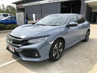 2019 Honda Civic 10th Gen MY19 VTi-LX Grey 1 Speed Constant Variable Hatchback