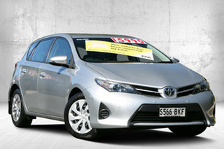 2012 Toyota Corolla ZRE182R Ascent S-CVT Silver 7 Speed Constant Variable Hatchback.