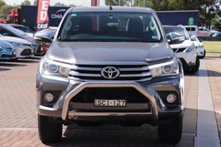 2015 Toyota Hilux GUN126R SR5 Double Cab Grey 6 Speed Sports Automatic Utility