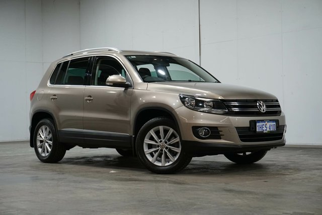 Used Volkswagen Tiguan 5N MY15 132TSI DSG 4MOTION Welshpool, 2015 Volkswagen Tiguan 5N MY15 132TSI DSG 4MOTION Fawn 7 Speed Sports Automatic Dual Clutch Wagon
