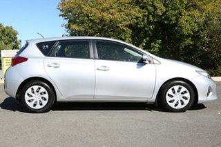 2012 Toyota Corolla ZRE182R Ascent S-CVT Silver 7 Speed Constant Variable Hatchback