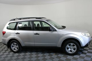 2010 Subaru Forester S3 MY10 X AWD Silver 4 Speed Sports Automatic Wagon.