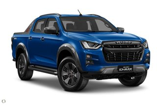 2020 Isuzu D-MAX RG MY21 X-TERRAIN Crew Cab Blue 6 Speed Sports Automatic Utility.